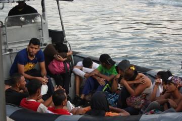 Cittadini in fuga dal Venezuela