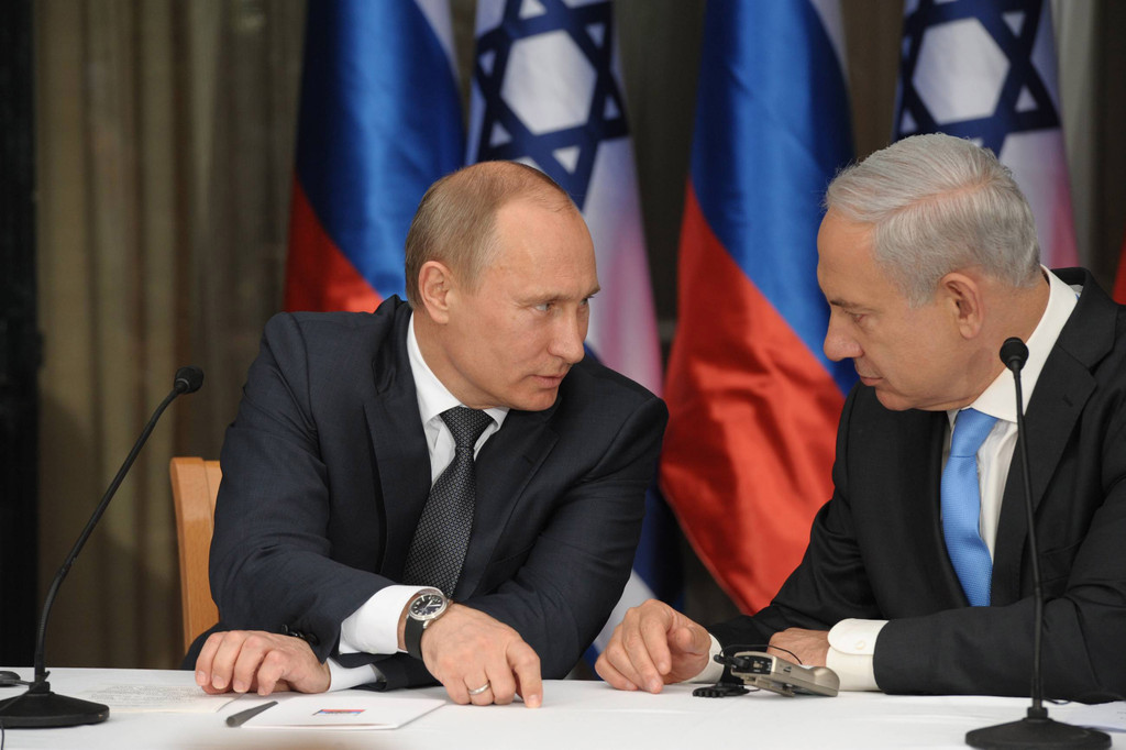 Putin vede Netanyahu