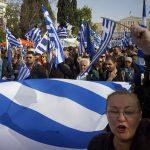 """La Grecia di nuovo in piazza: <br>""""Skopje non è Macedonia"""""""