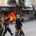 Ribelli e militari turchi in Siria <br> devastano monumenti e chiese