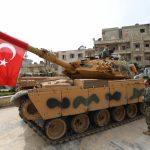 La Turchia avanza in Siria <br> ed è pronta ad entrare a Manbij