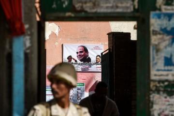 Al Sisi AFP PHOTO / KHALED DESOUKI