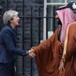"""Bin Salman arriva nel Regno Unito<br> e Londra si """"trasforma"""" in Riyadh"""