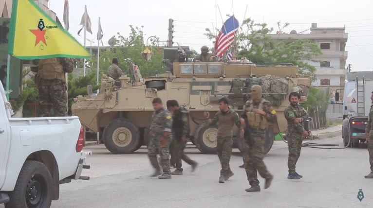 YPG_and_US_army_Hassaka_1-5-2017