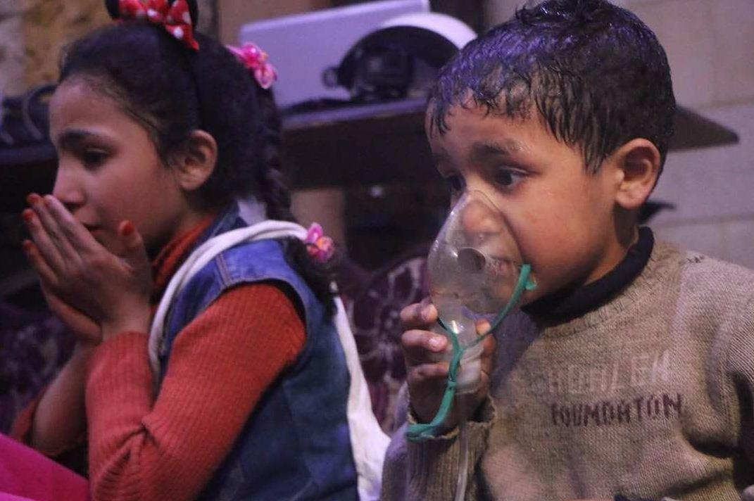 L'attacco chimico di Douma (Social)