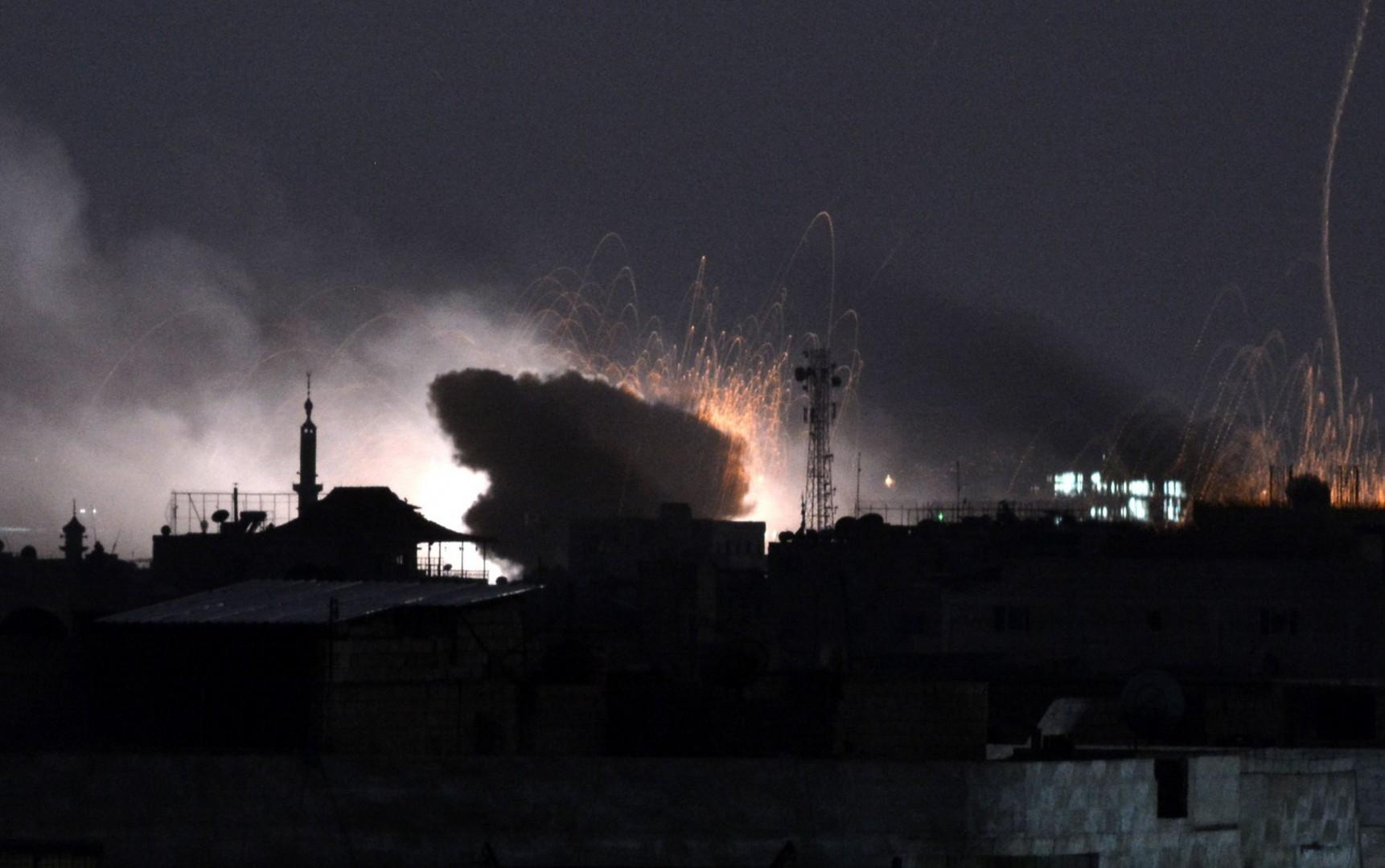 Un raid governativo sul campo profughi di Yarmouk