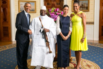 Yahya_Jammeh_with_Obamas_2014