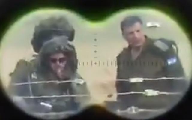 generali israele cecchini palestina