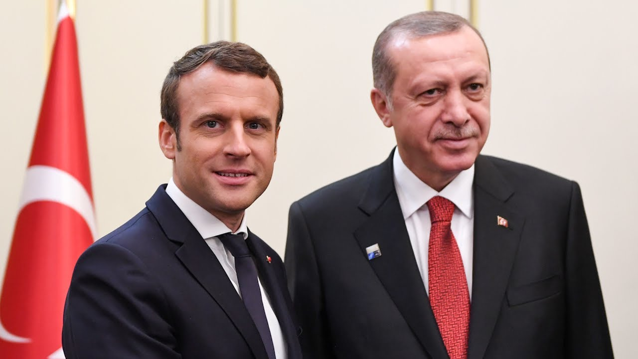 Erdogan Macron YouTube