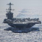 Gli Stati Uniti sfidano la Russia: <br> la Truman resta nel Mediterraneo