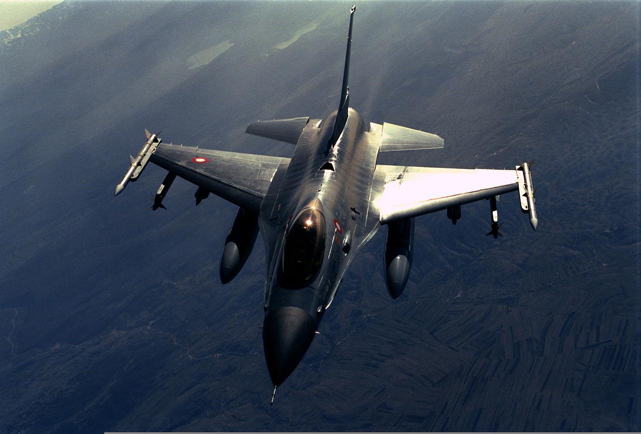 F 16 Turchia (Wikimedia)