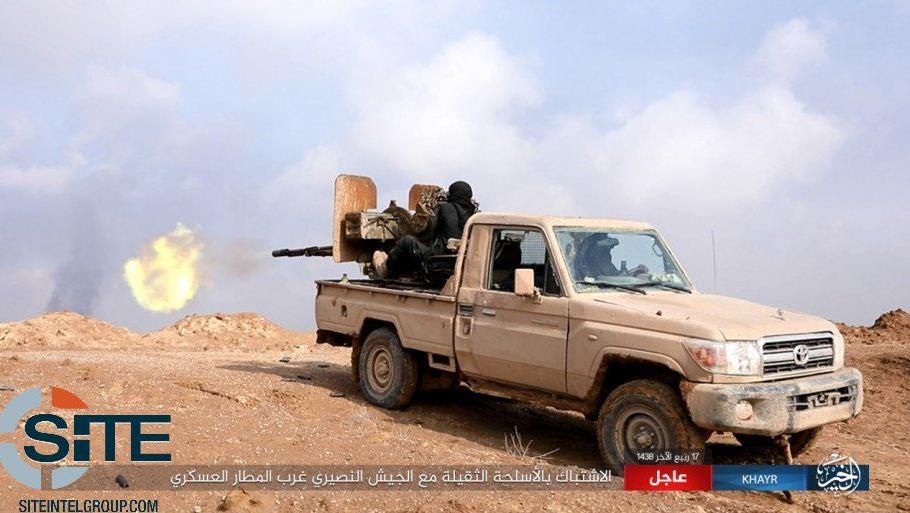 Un'operazione dell'Isis a Deir Ezzor (Site)