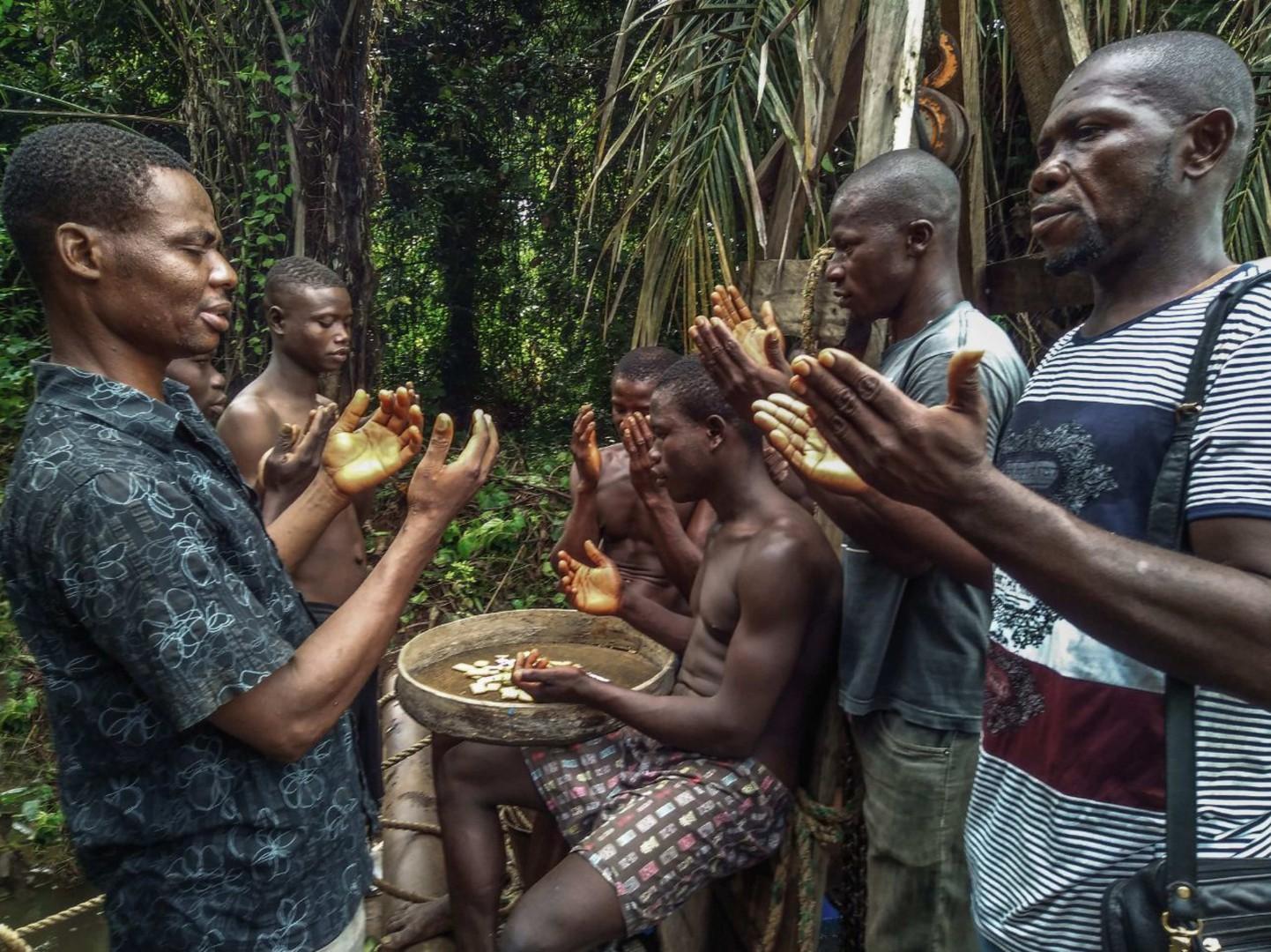 I demoni della Sierra Leone (Foto Jacopo Lentini)