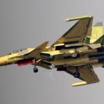 Il caccia per la guerra elettronica<br> destinato alla nuove portaerei cinesi