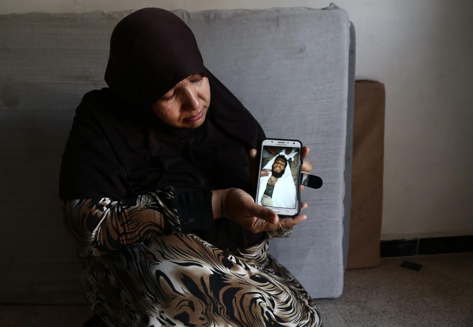 Gli sfollati di Afrin (LaPresse)