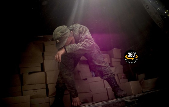 Un soldato filorusso in Donbass (Foto di Alfredo Bosco)