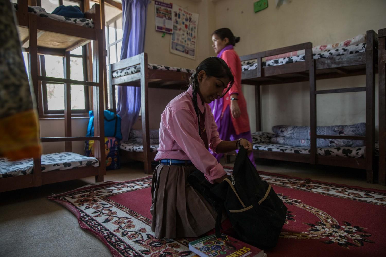 Alcune donne in Nepal