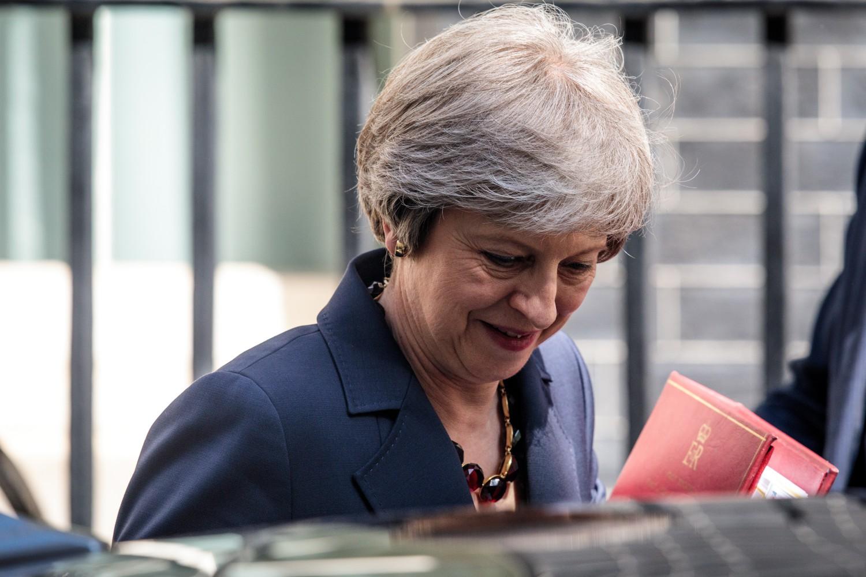 Il primo ministro britannico Theresa May (Getty)