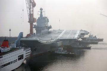 Shandong, la prima portaerei interamente cinese (Getty)