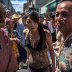Giappone, i tatuaggi della Yakuza <br> sfilano ai festival shintoisti
