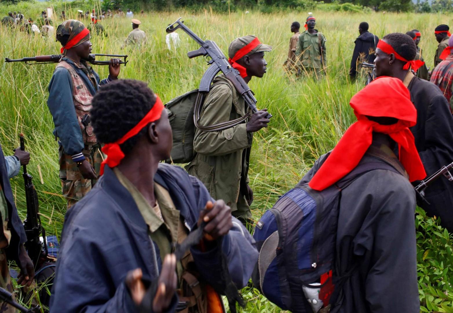 I guerriglieri sudanesi