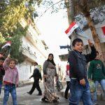 A Deir Ezzor torna l'elettricità <br> e gli abitanti tornano a vivere
