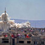 """""""Forti esplosioni a sud di Damasco"""" <br>E l'Isis lascia la sua ultima roccaforte"""