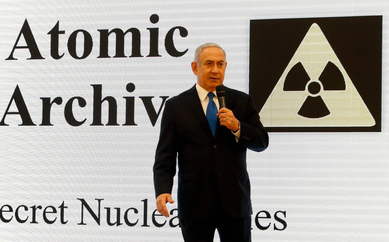 Netanyahu mostra file sul nucleare iraniano (La Presse)