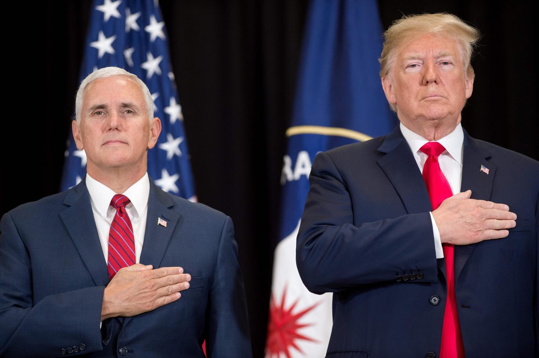Donald Trump e Mike Pence (La Presse)