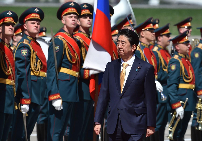 Shinzo Abe in visita in Russia (La Presse)