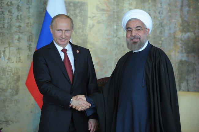 Putin e Rohani (Wikipedia)