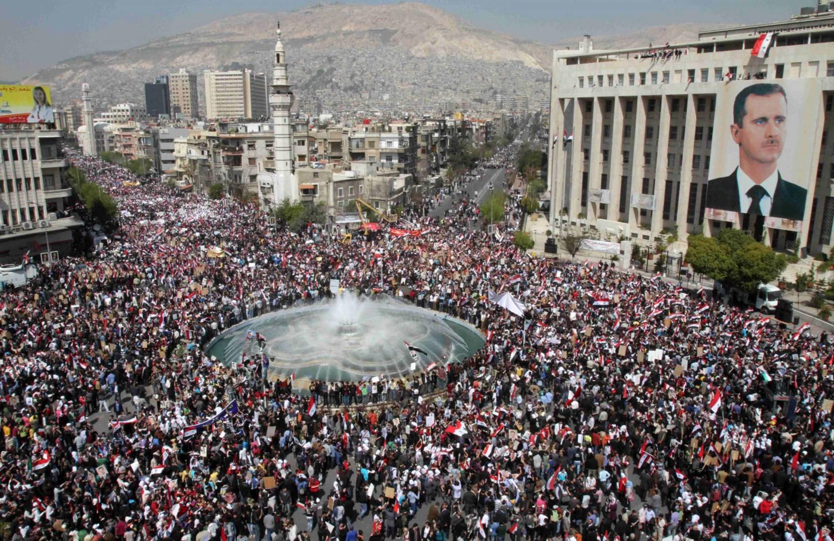 Sette anni di guerra in Siria (LaPresse)