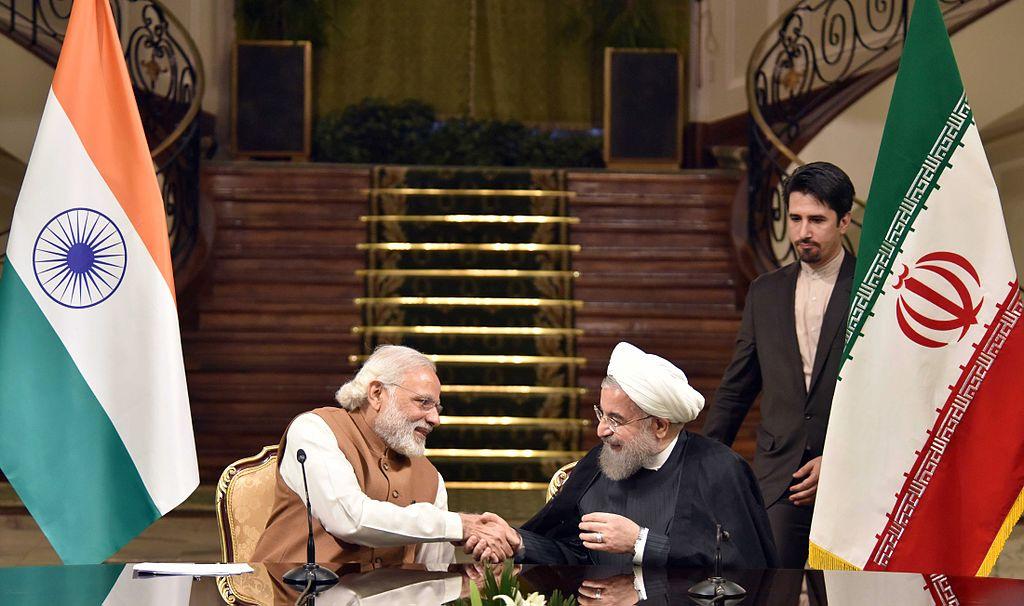 Rouhani con Modi