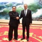 Lavrov incontra Kim Jong-un: <br>la Russia si riprende la Nord Corea