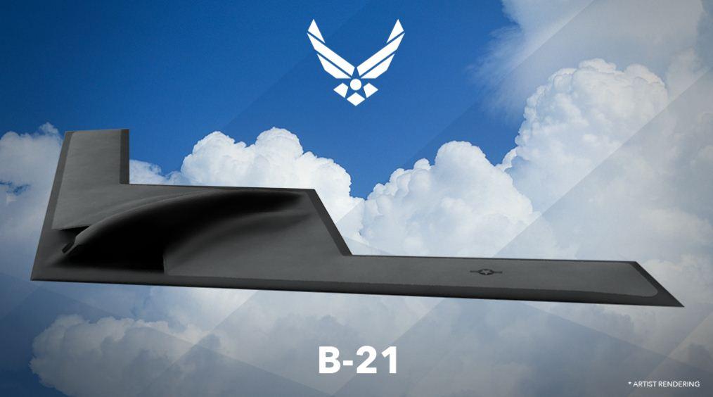 Il bombardiere americano B21