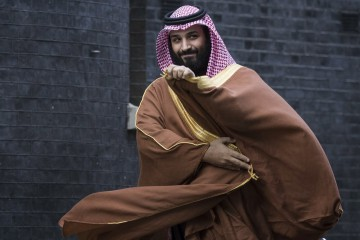 Mohammed bin Salman, principe dell'Arabia Saudita (Getty)