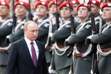 Il presidente russo è arrivato a Vienna per il 50esimo anniversario delle esportazioni di gas dalla Russia in Austria