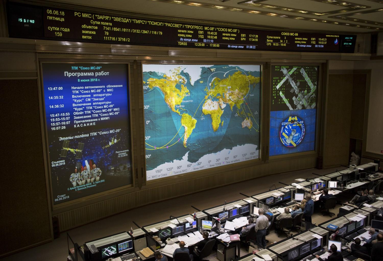 Foto stazione spaziale