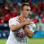 L'esultanza dei giocatori svizzeri <br> può riaprire un caso politico