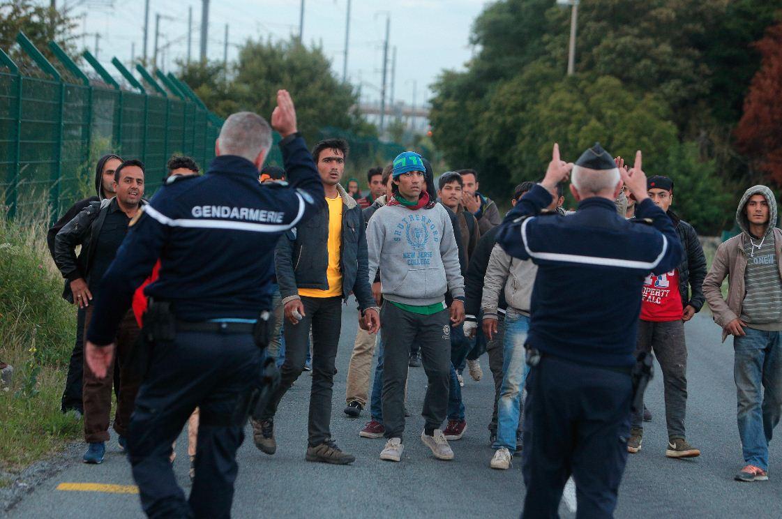Gendarmerie e migranti