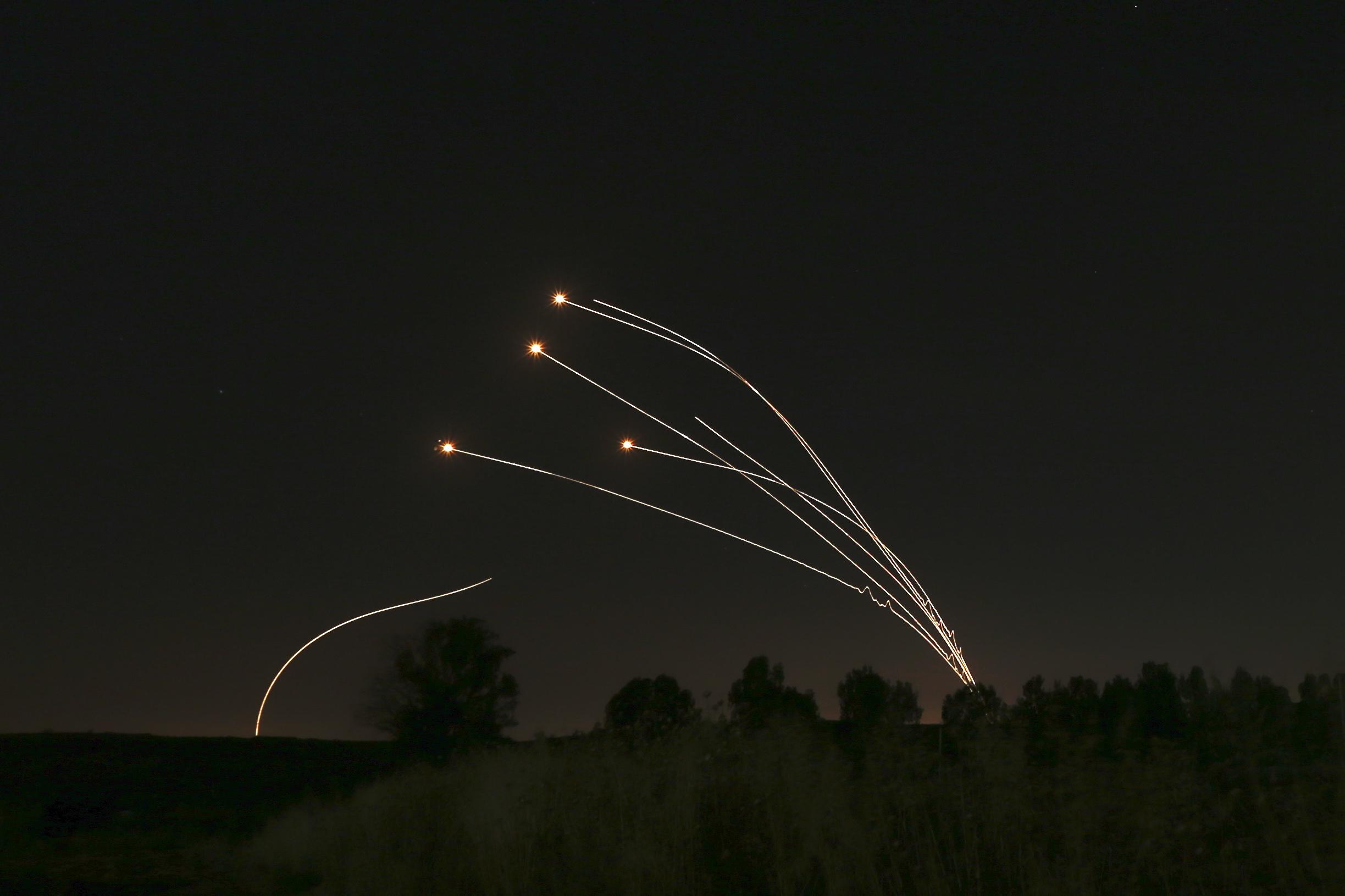 Iron Dome, il sistema di difesa di Israele (LaPresse)