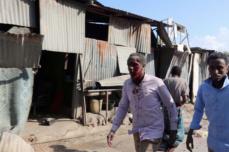 Un attentato di Al Shabaab in Somalia (LaPresse)
