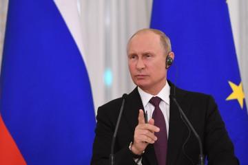 Putin in conferenza stampa (La Presse)