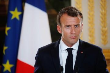 Il presidente francese Emmauel Macron (LaPresse)