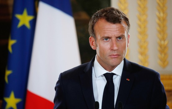 Emmauel Macron (LaPresse)