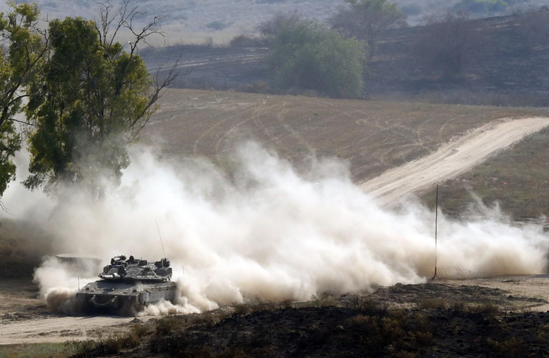 carro armato israeliano (La Presse)