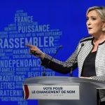 """Marine Le Pen ci riprova: <br>ecco """"Rassemblement National"""""""