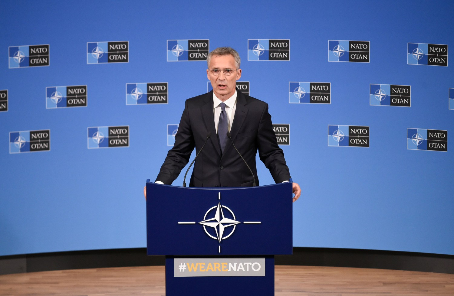 Jens Stoltenberg (Afp Photo)