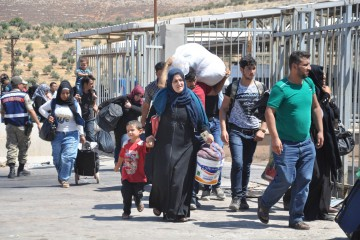Migranti in Siria