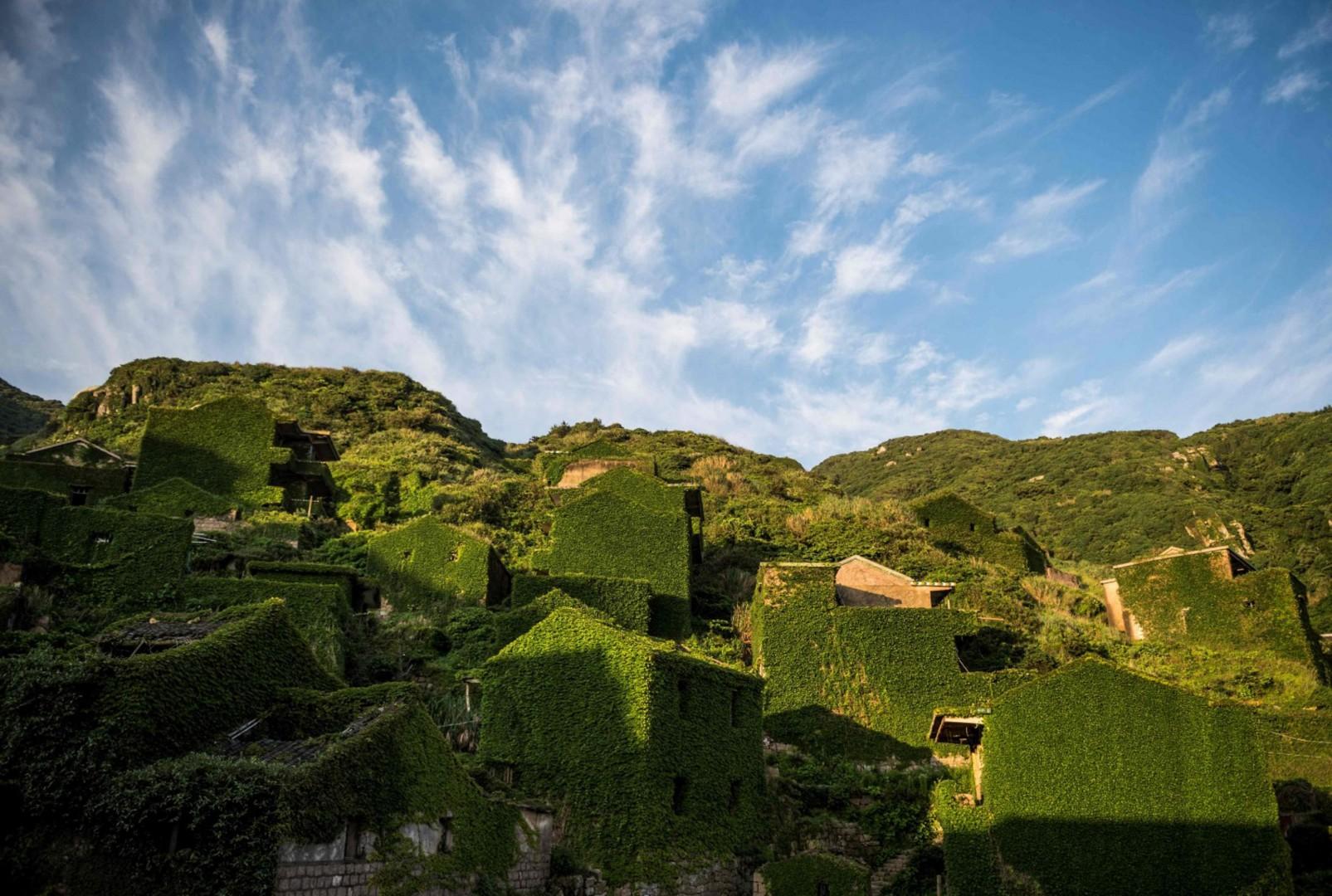Villaggi divorati edera (LaPresse)